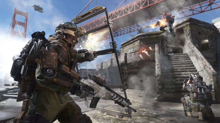 Call of Duty Advanced Warfare Defender-Under-the-Bridge