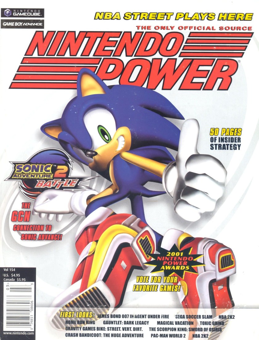 Nintendo Power Sonic