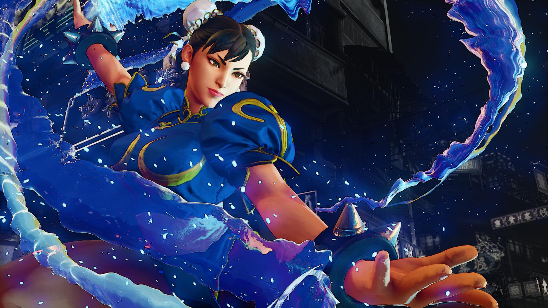Street Fighter V Chun Li