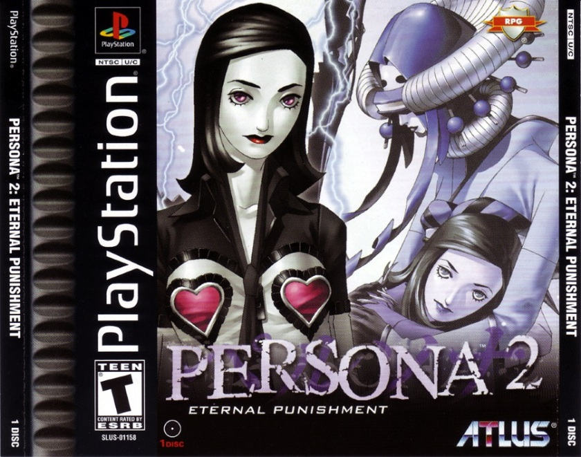 Persona 2 Eternal Punishment (SLUS-01158) (Front)