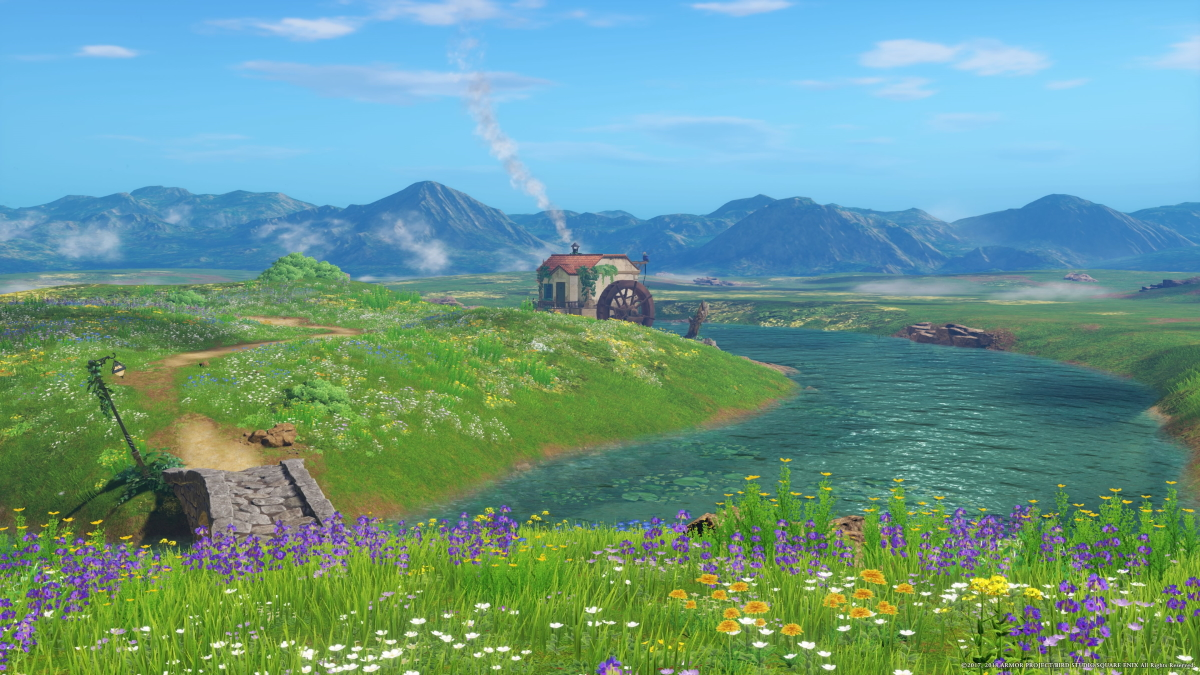 Dragon Quest XI Performs its Best Puff-Puff: Joey has an Enormous Grin on His Face