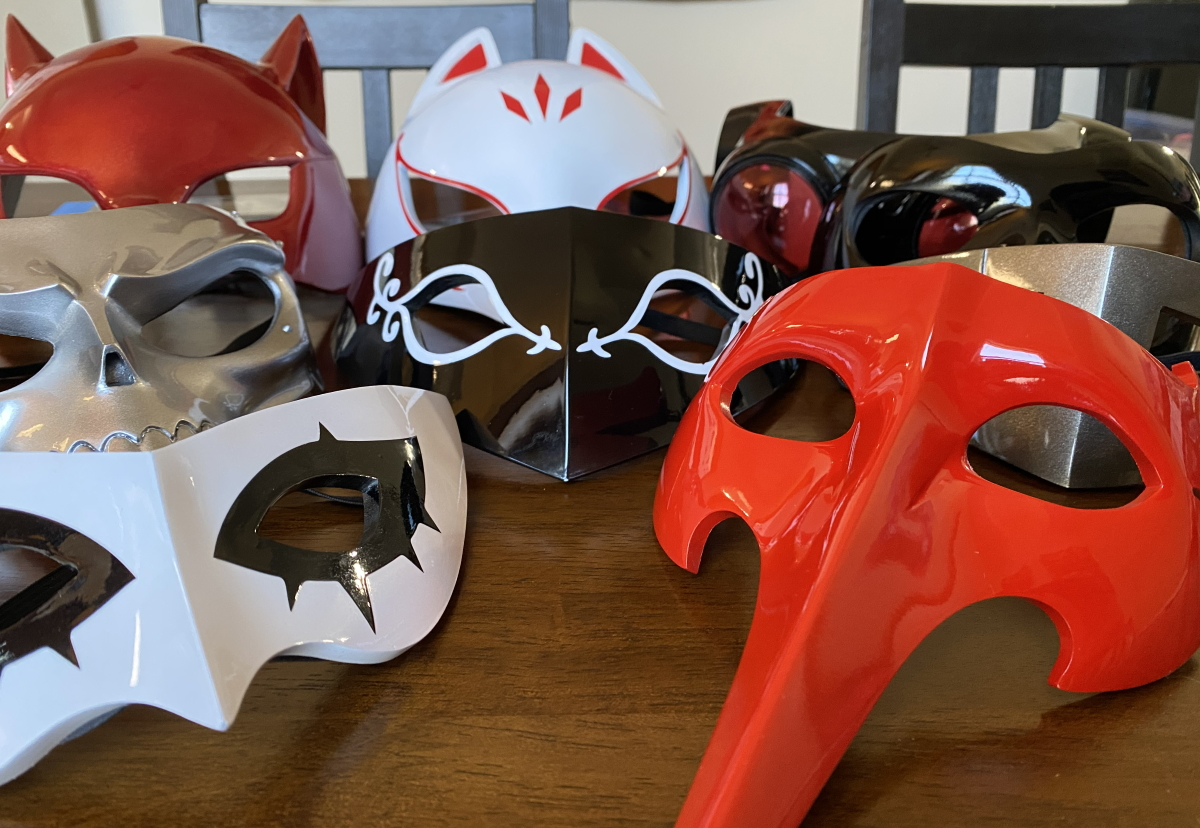 Thievie Wonders: My New Phantom Thieves Mask Collection