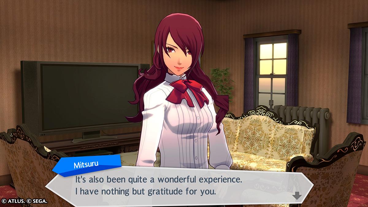 Video Game Crushes: MitsuruKirijo